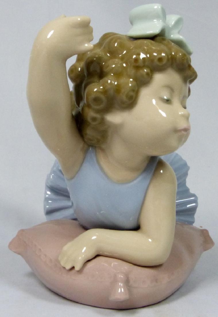 LLADRO 'BALLET GIRL' 5109 PORCELAIN FIGURINE w BOX - 2