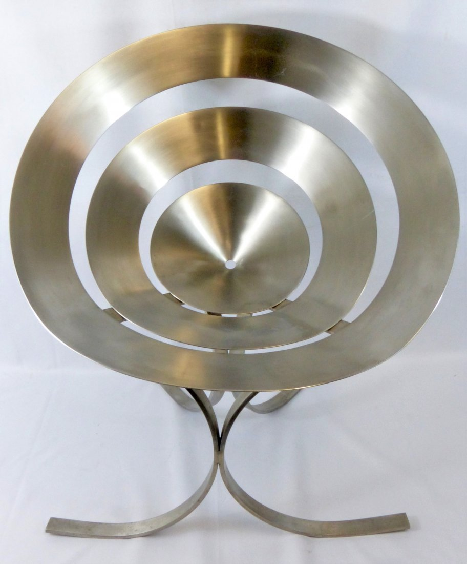 MARIA PERGAY STAINLESS STEEL RING CHAIR
