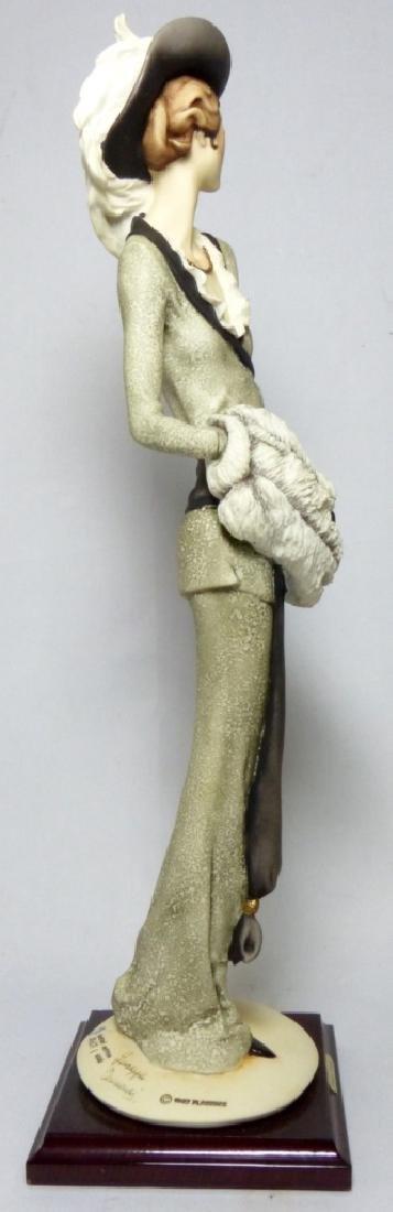 GIUSEPPE ARMANI PORCELAIN FIGURINE LADY w MUFF - 3