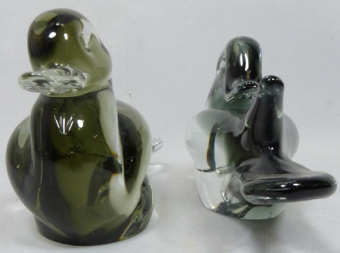 PR V NASON MURANO ART GLASS DUCKS - 2