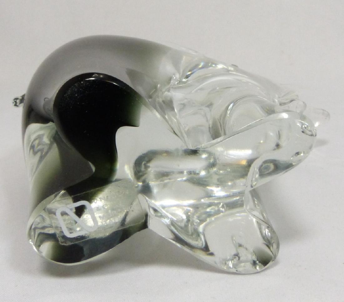 V NASON MURANO ART GLASS ELEPHANT - 5