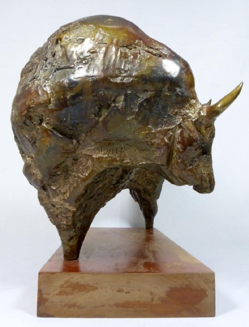 JUAN LUIS ANDREU 'THE BULL' BRONZE SCULPTURE - 3