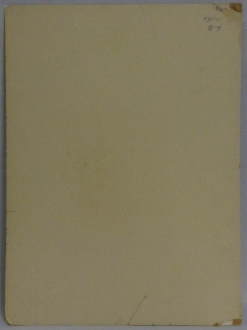 THOMAS WORTH 'EDWIN FORREST' INK PORTRAIT ON PAPER - 6