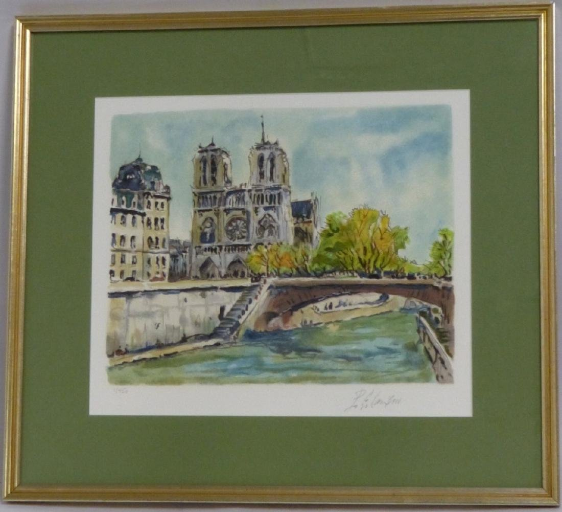 PIERRE EUGENE CAMBIER SERIGRAPH SIGNED 1/450