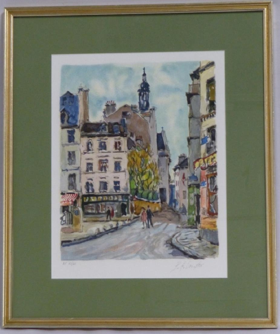 PIERRE EUGENE CAMBIER SERIGRAPH SIGNED AP 33/65