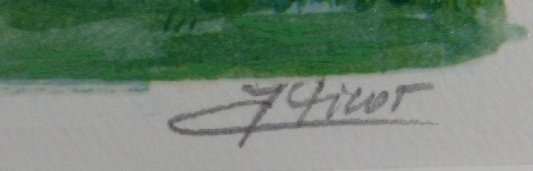 JEAN CLAUDE PICOT SERIOLITHOGRAPH SIGNED - 3