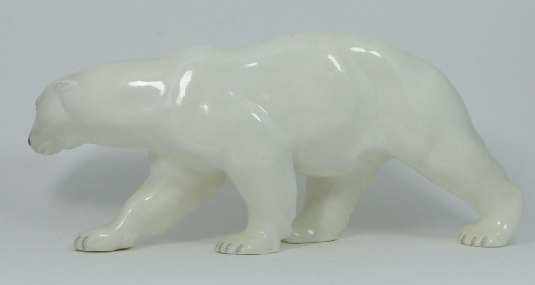 GOLDSCHEIDER CERAMIC POLAR BEAR WERNEKINCK - 4