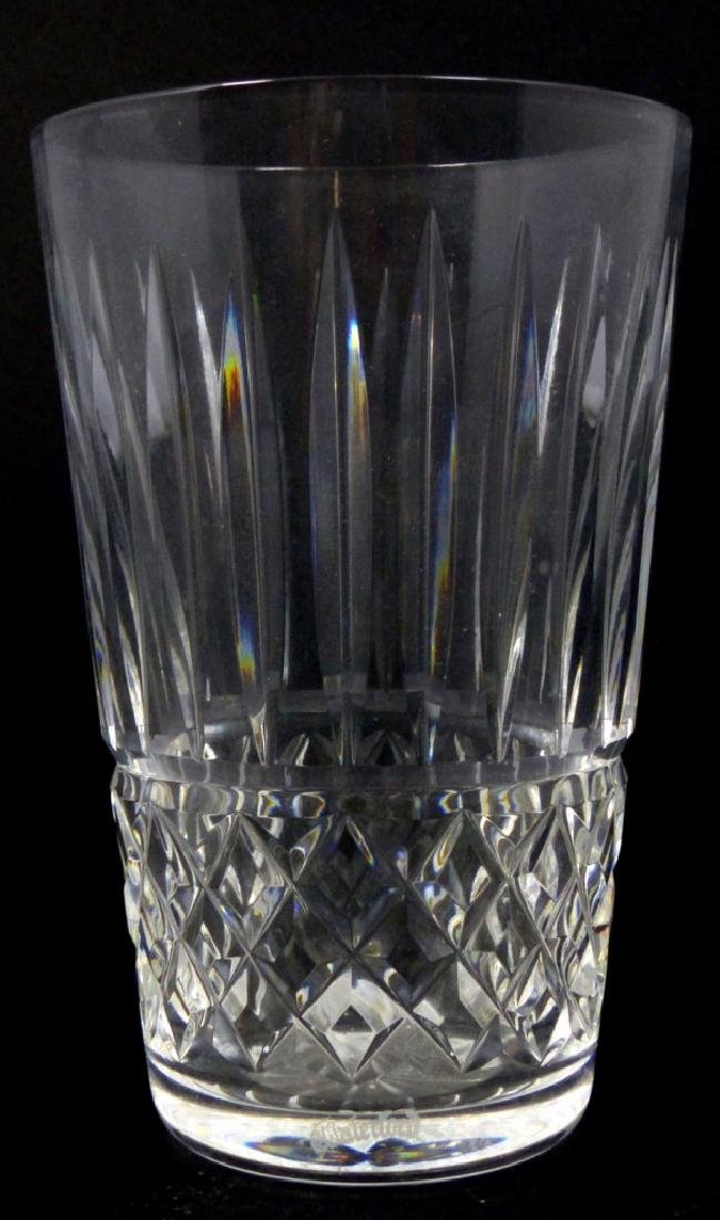 11pc WATERFORD MAEVE TRAMORE CUT CRYSTAL TUMBLERS - 2