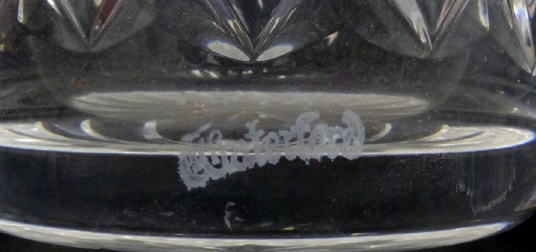 11pc WATERFORD MAEVE TRAMORE CUT CRYSTAL TUMBLERS - 5