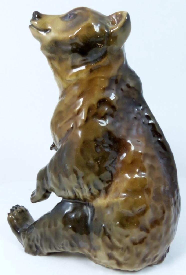 ROSENTHAL GERMAN PORCELAIN BEAR FIGURINE - 5