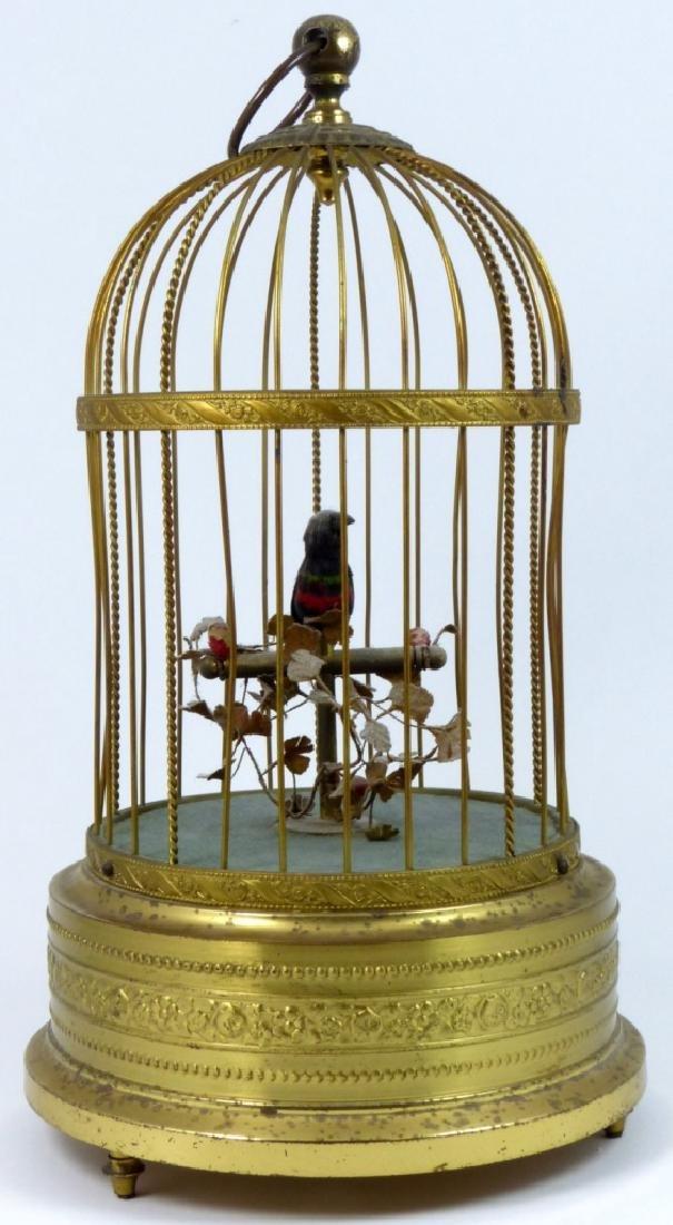 KARL GRIESBAUM GERMAN MECHANICAL BIRD MUSIC BOX