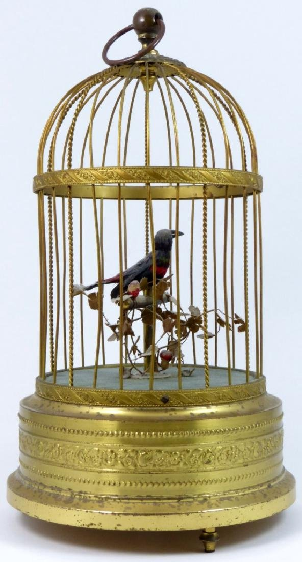 KARL GRIESBAUM GERMAN MECHANICAL BIRD MUSIC BOX - 2
