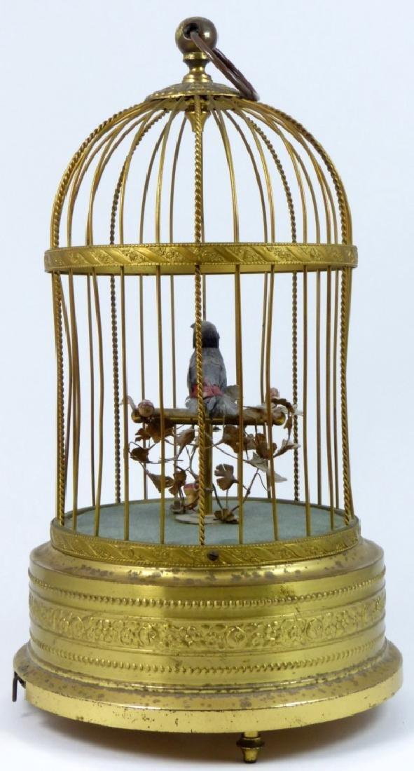 KARL GRIESBAUM GERMAN MECHANICAL BIRD MUSIC BOX - 3