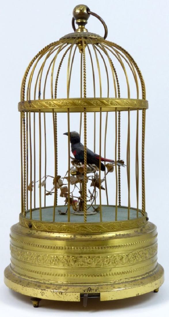 KARL GRIESBAUM GERMAN MECHANICAL BIRD MUSIC BOX - 4