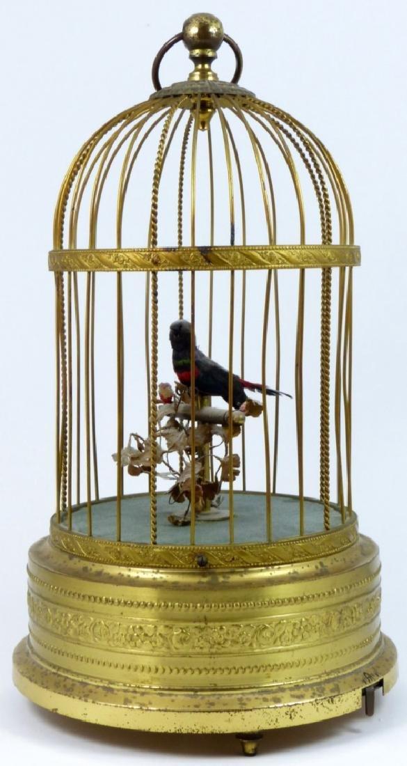 KARL GRIESBAUM GERMAN MECHANICAL BIRD MUSIC BOX - 6