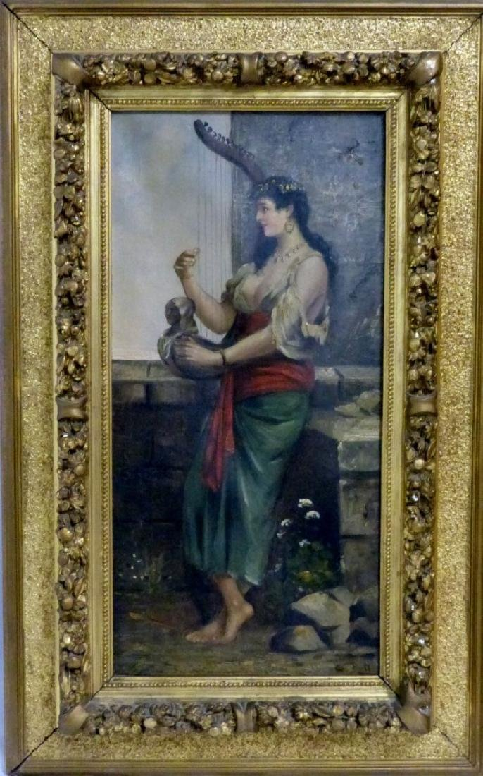 PR ANTIQUE ITALIAN OIL PAINTINGS ON CANVAS - 3