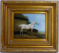 SHIPLEY EQUESTRIAN OIL PAINTING ON CANVAS