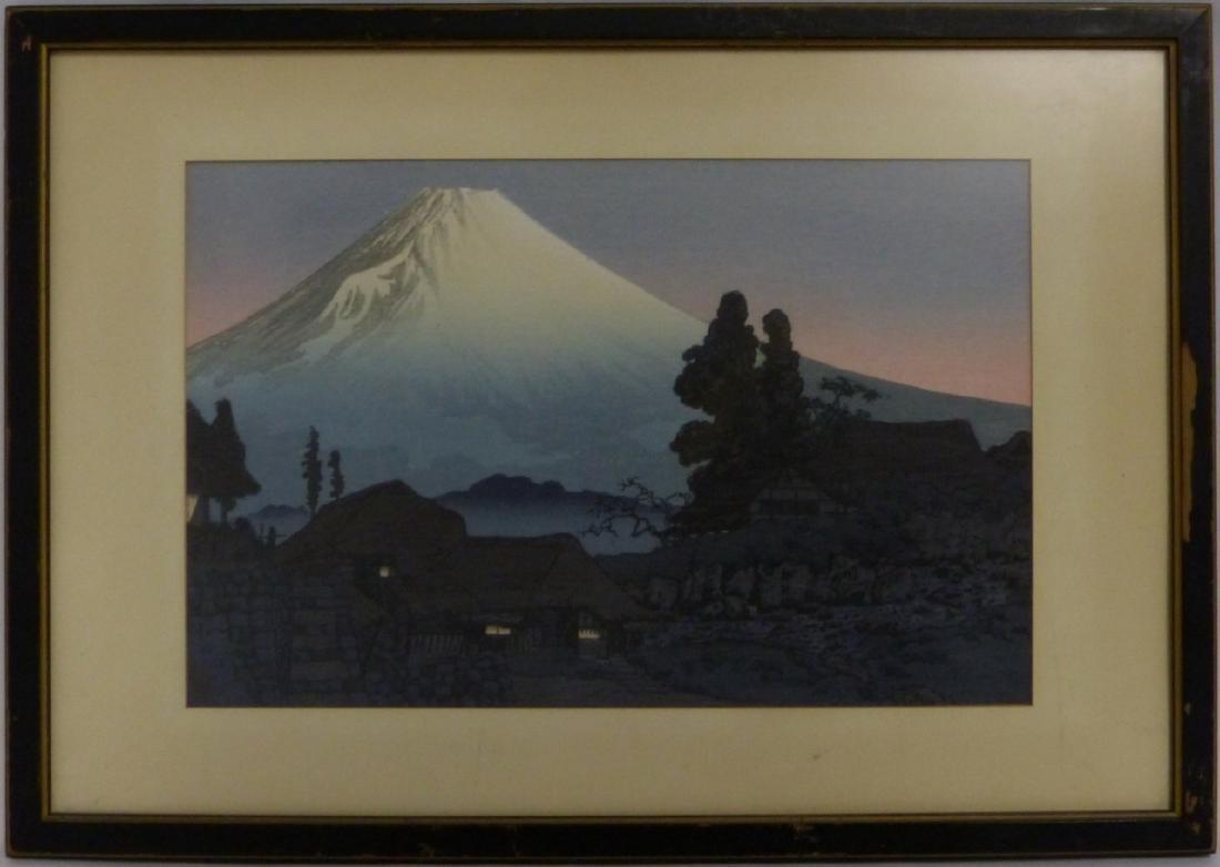 3 JAPANESE LANDSCAPE PRINTS - 5