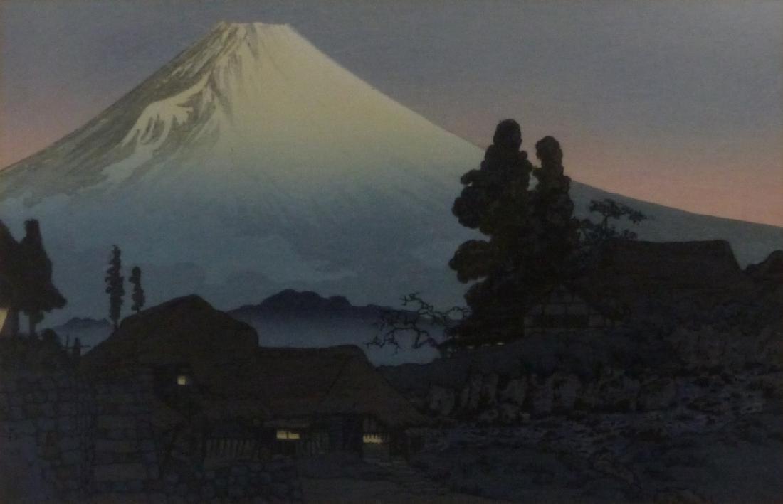 3 JAPANESE LANDSCAPE PRINTS - 6