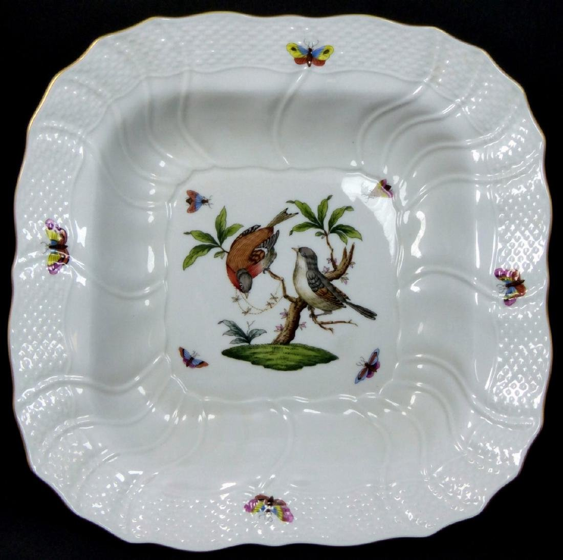 HEREND 'ROTHSCHILD' PORCELAIN SERVING BOWL