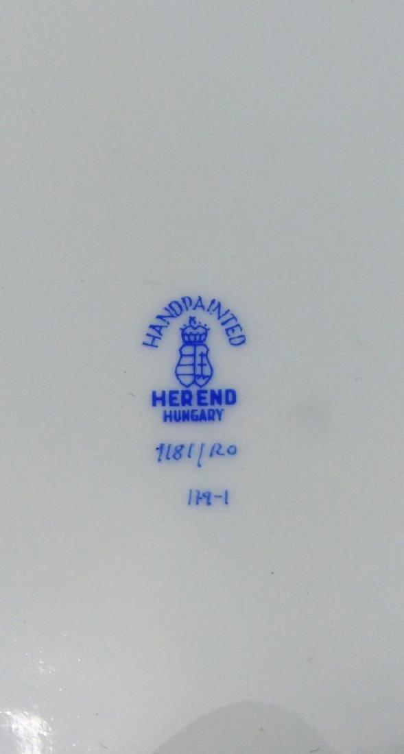 HEREND 'ROTHSCHILD' PORCELAIN SERVING BOWL - 5