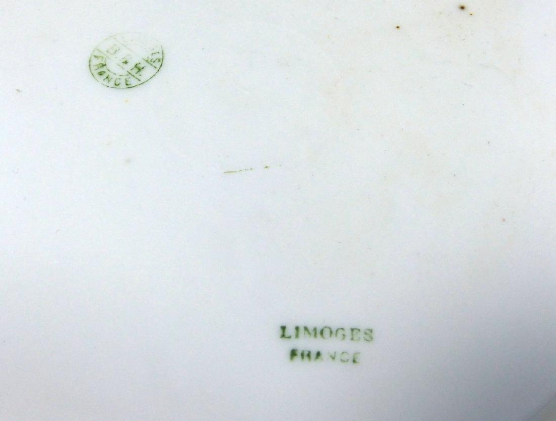 2pc BLAKEMAN & HENDERSON LIMOGES GAME PLATES - 6