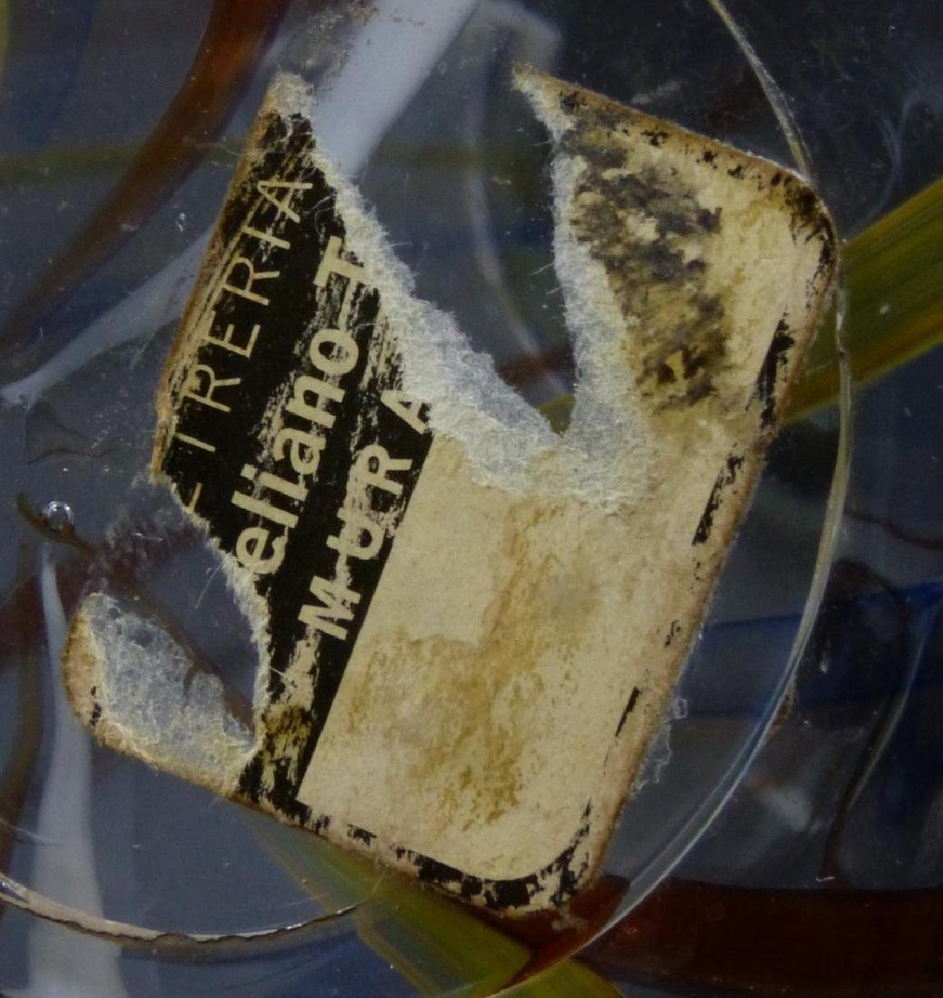 DINO MARTENS 'MESTIZIA' ART GLASS VASE MODEL 6377 - 10