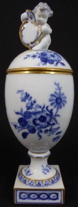Royal Copenhagen Blue & White Porcelain Urn