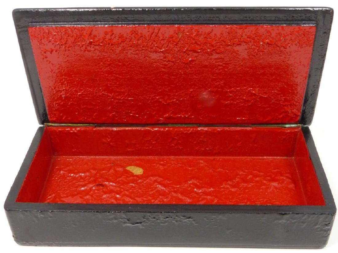 2pc RUSSIAN LACQUERED BOXES - 3