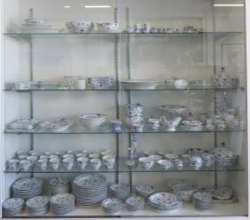 245pc Royal Copenhagen Blue Fluted Porcelain
