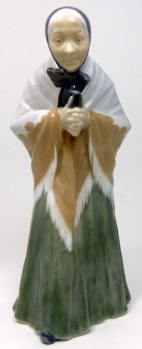 Royal Copenhagen 'the Churchgoer' Porcelain Figure