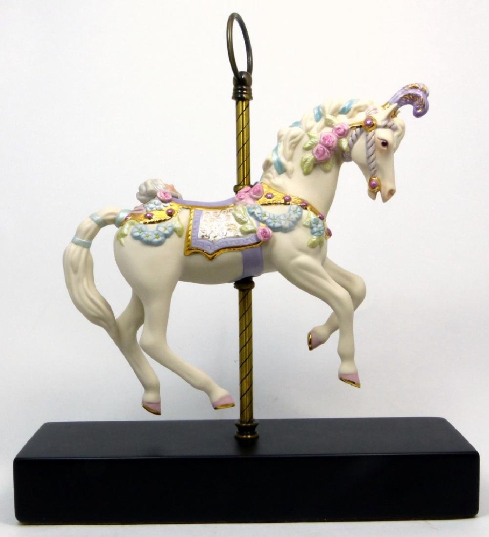 CYBIS 'CAROUSEL HORSE' PORCELAIN FIGURINE