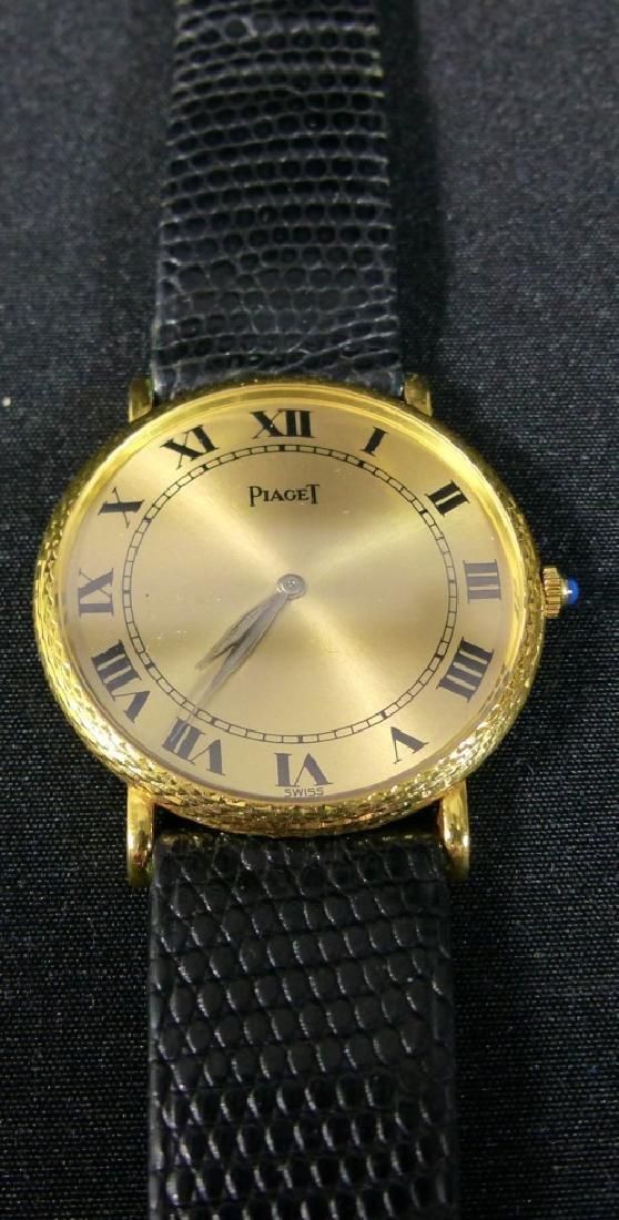 PIAGET 18kt YELLOW GOLD WRIST WATCH - 10
