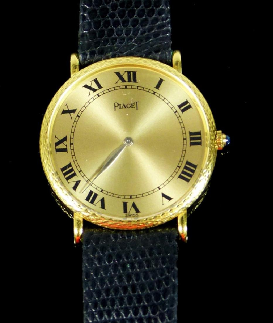 PIAGET 18kt YELLOW GOLD WRIST WATCH
