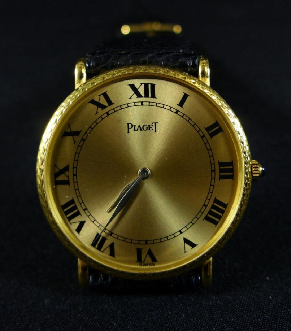 PIAGET 18kt YELLOW GOLD WRIST WATCH - 6
