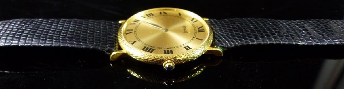 PIAGET 18kt YELLOW GOLD WRIST WATCH - 7