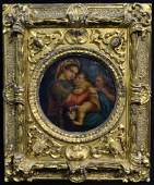 ITALIAN OIL PAINTING ON CANVAS AFTER RAPHAEL