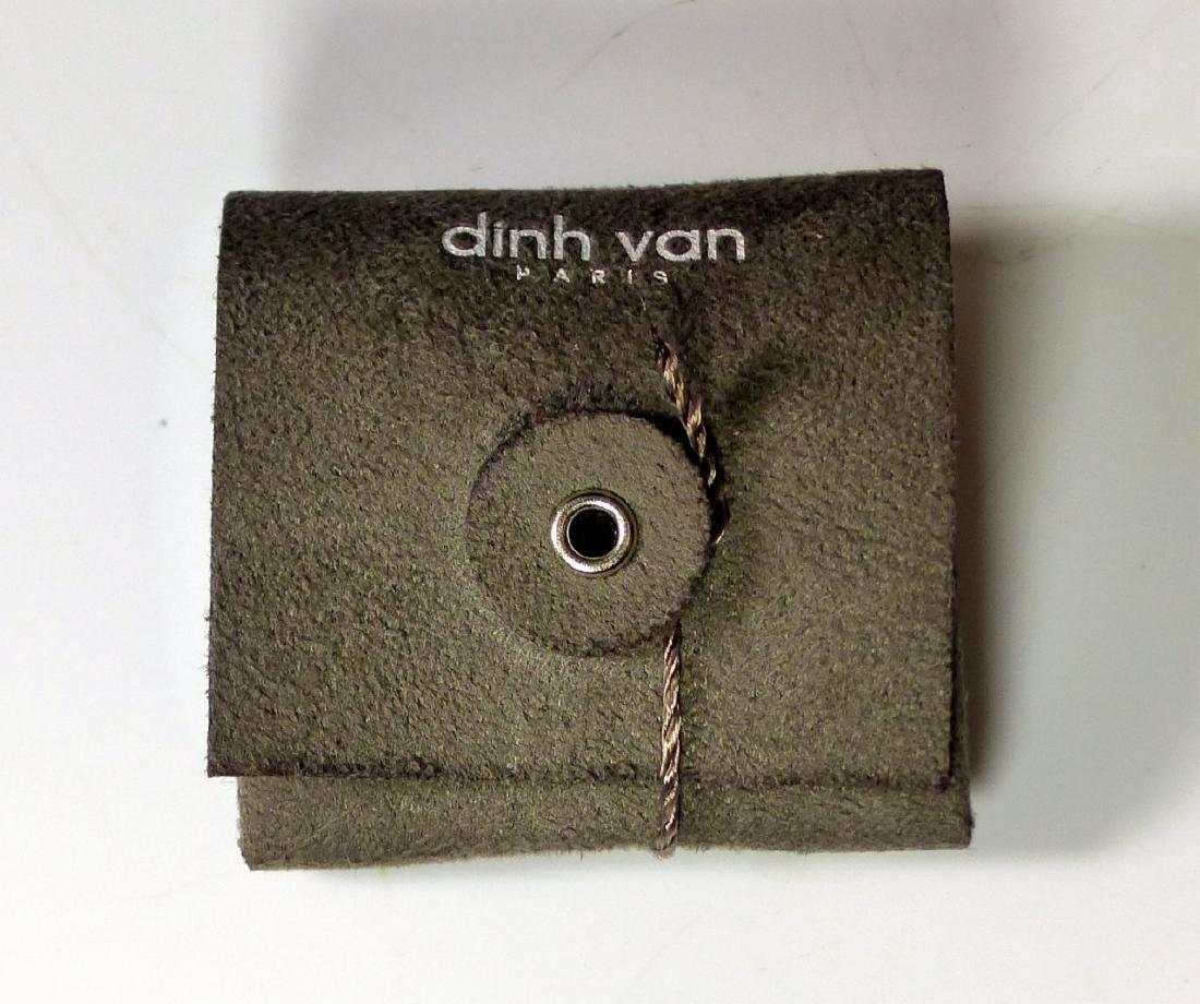 DINH VAN 18kt WG & DIAMOND MENOTTES RING - 10