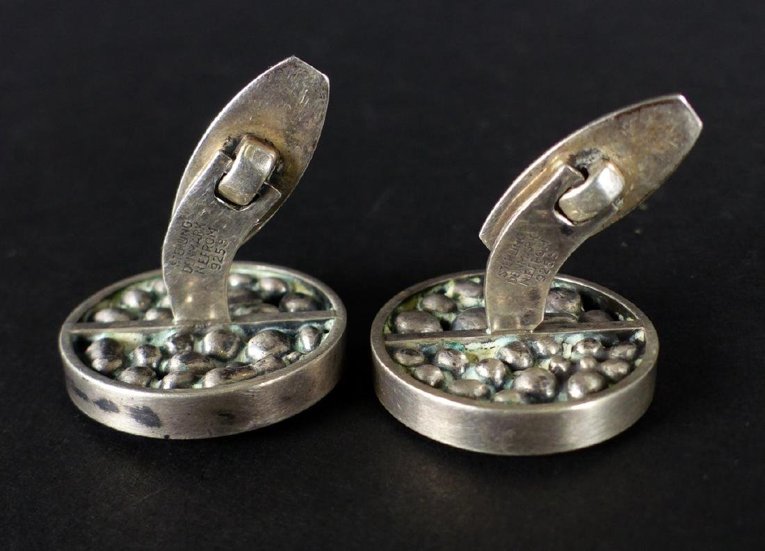 PR NIELS ERIK FROM STERLING SILVER CUFFLINKS - 6
