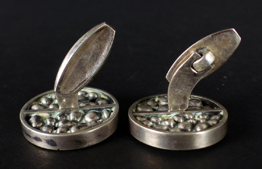 PR NIELS ERIK FROM STERLING SILVER CUFFLINKS - 7