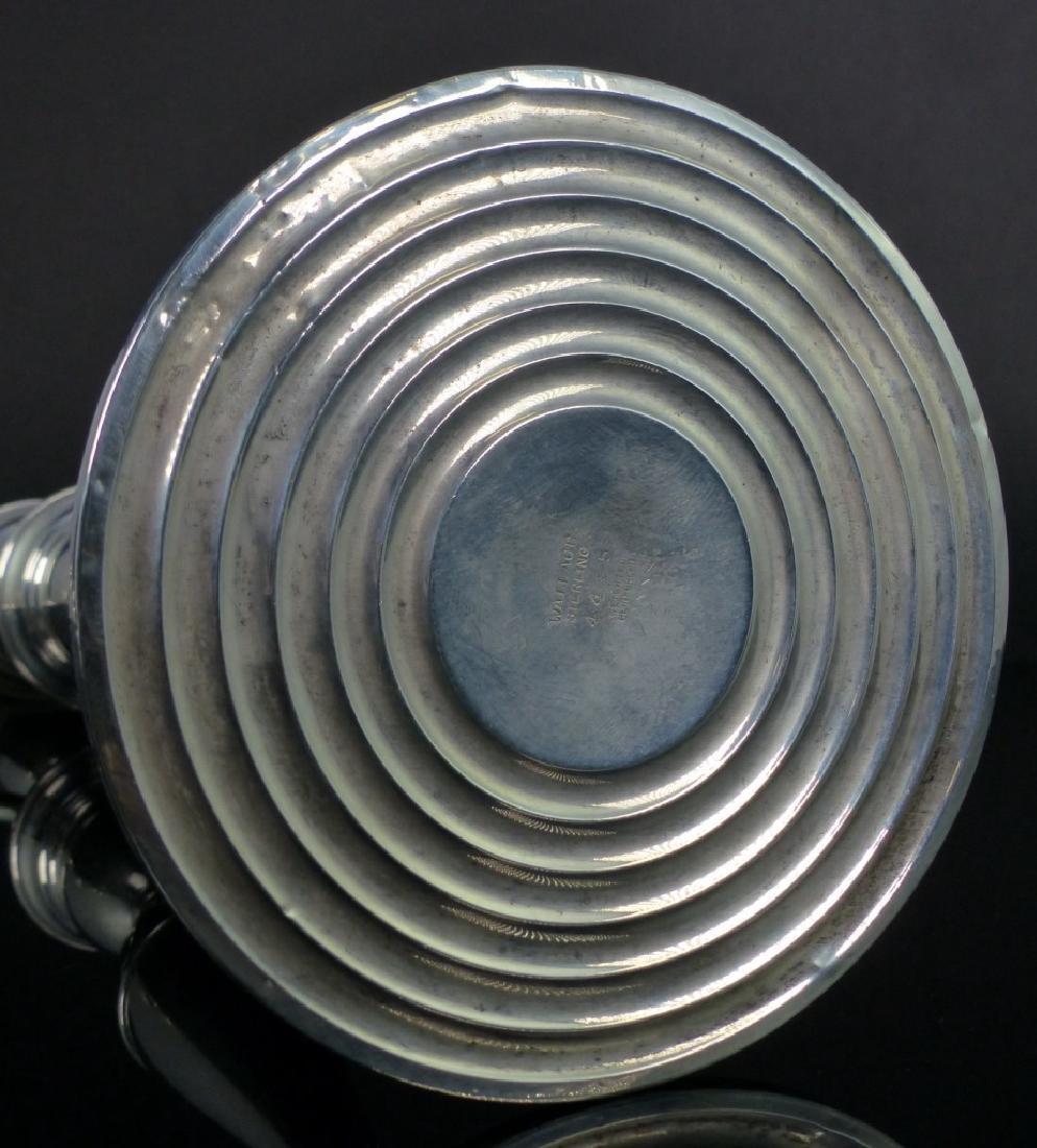 PR WALLACE STERLING SILVER 3-LIGHT CANDELABRA - 7