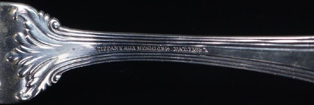 TIFFANY & CO 'COLONIAL' STERLING SILVER MEAT FORK - 6