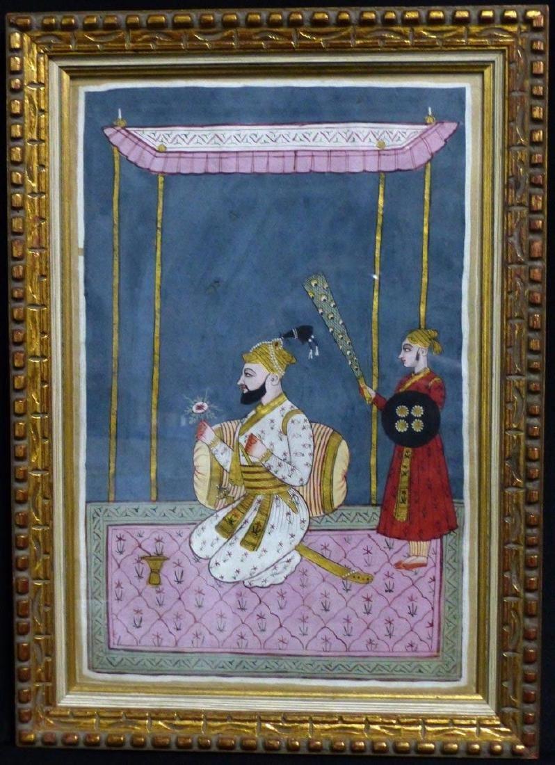 INDIAN MANUSCRIPT PAINTING