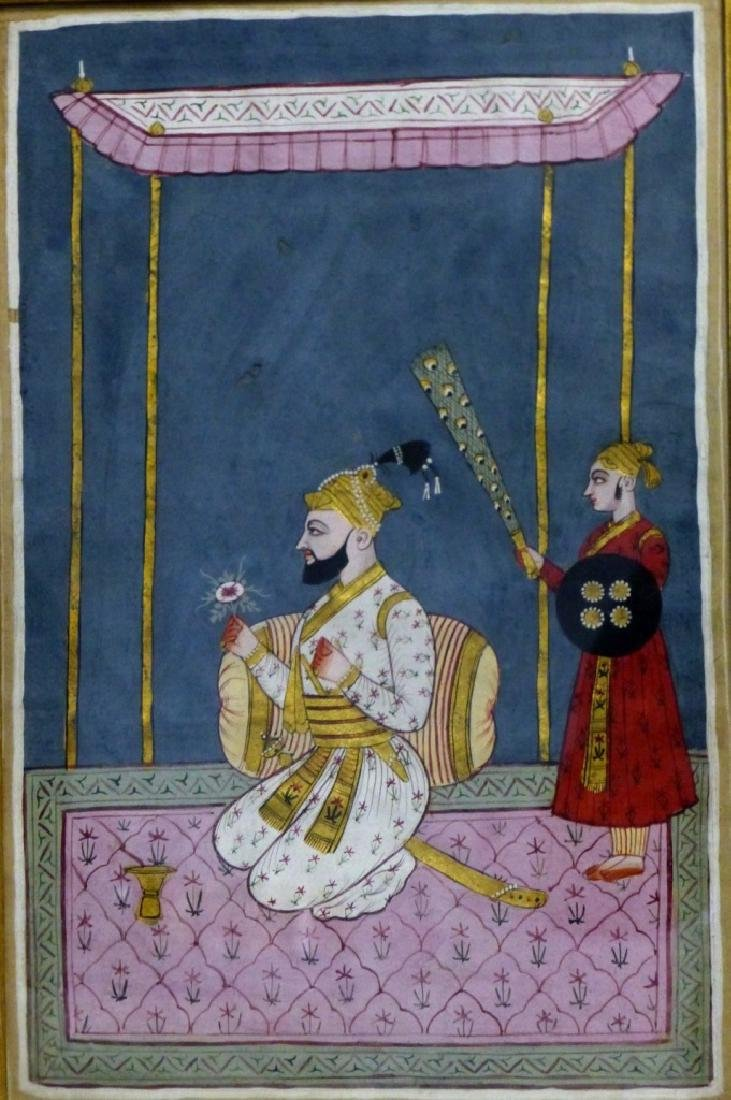 INDIAN MANUSCRIPT PAINTING - 2