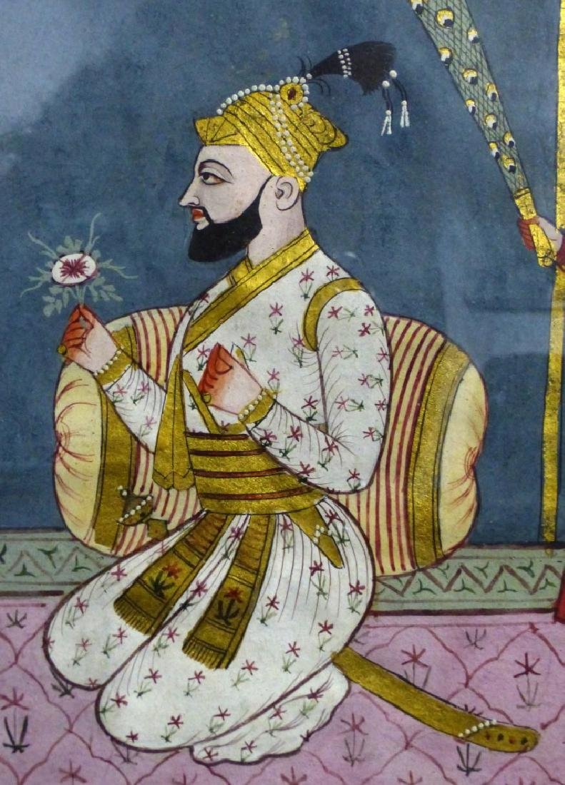 INDIAN MANUSCRIPT PAINTING - 3