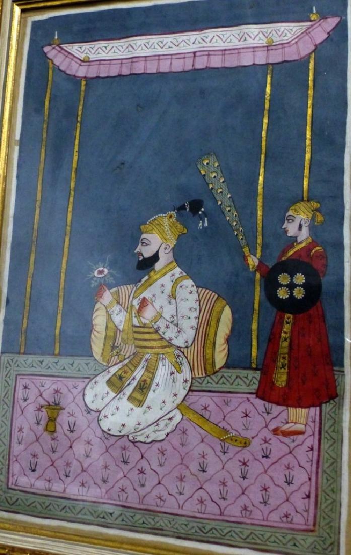 INDIAN MANUSCRIPT PAINTING - 4