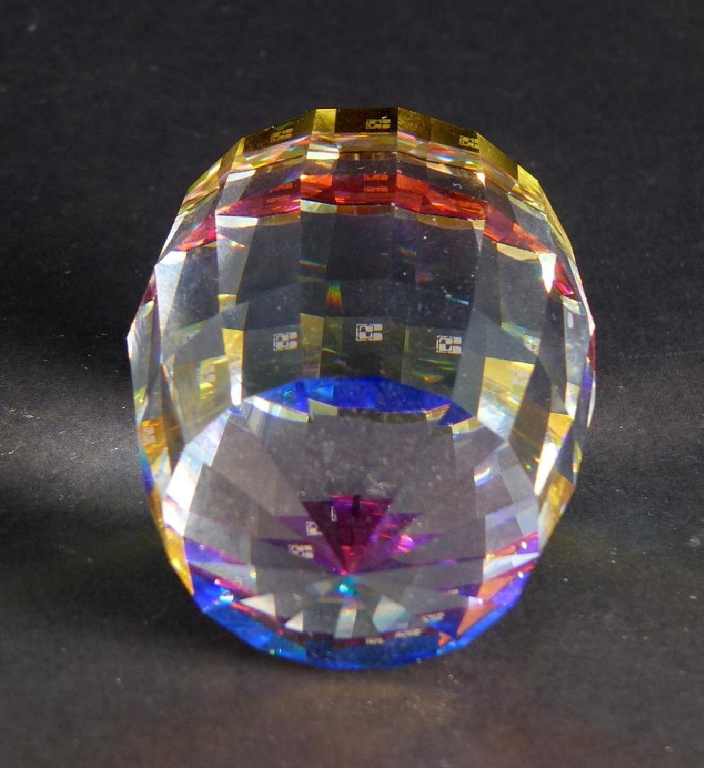 2pc SWAROVSKI CRYSTAL PAPERWEIGHTS - 3