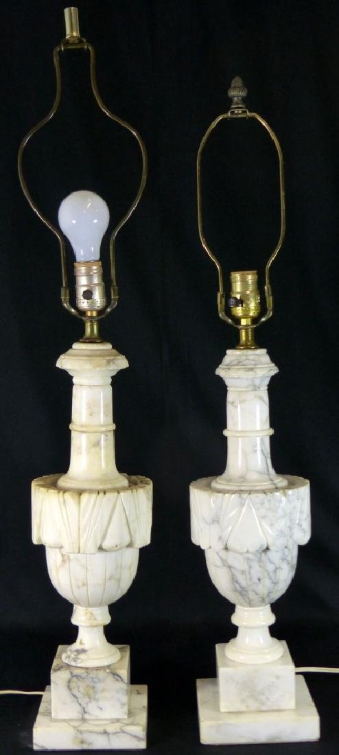 PR MARBLE TABLE LAMPS