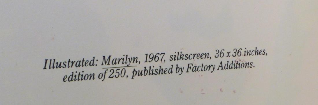 ANDY WARHOL 'MARILYN' CASTELLI INVITATION SIGNED - 6