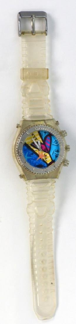 ROMERO BRITTO QUARTZ WATCH w SILICONE BAND - 2